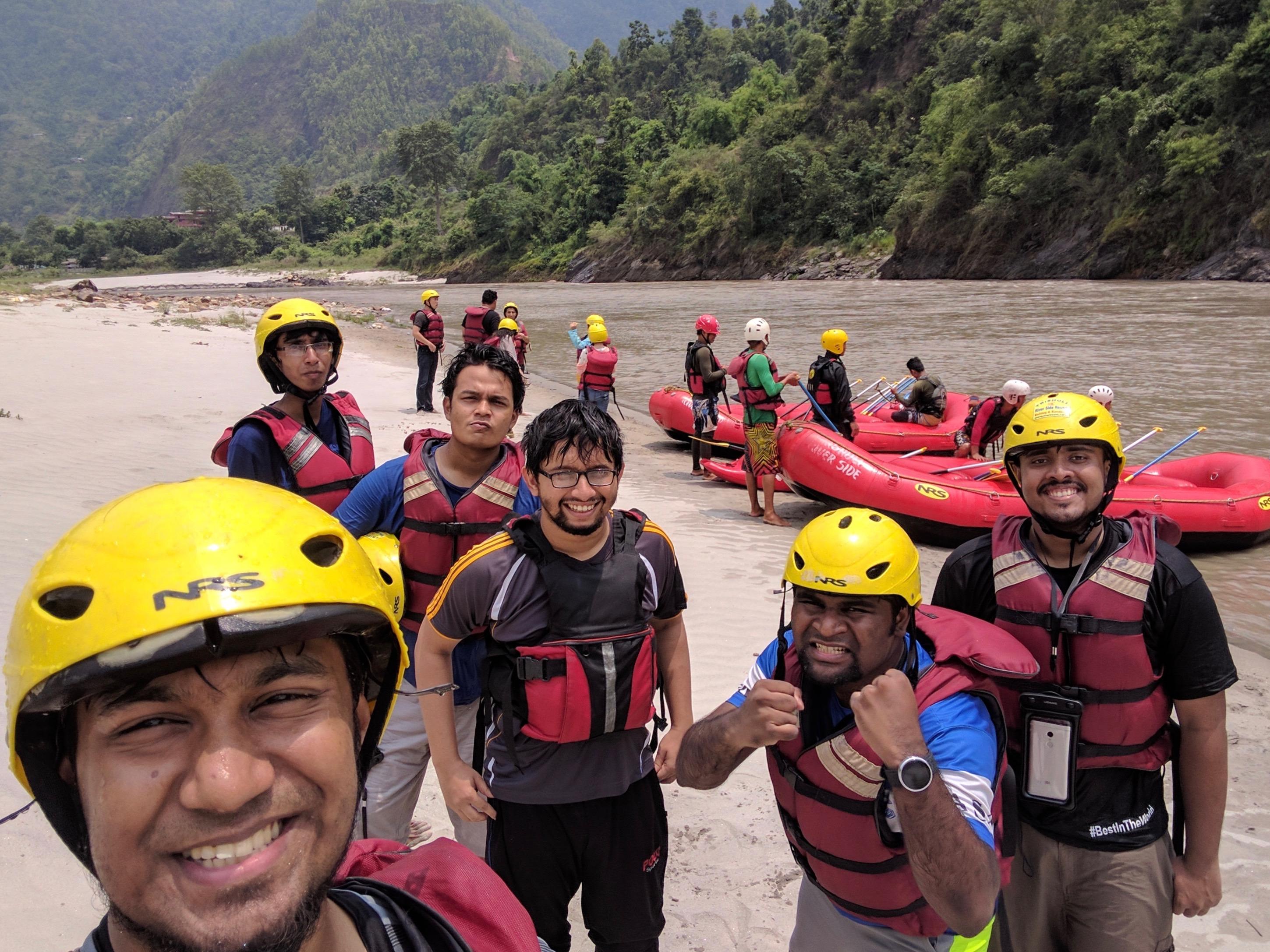 নেপাল ভ্রমণের ইতিবৃত্ত-রাফটিং
